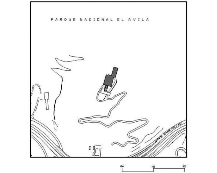 arquitectura_casa-gonzalez-gorrondona_ plano de emplazamiento