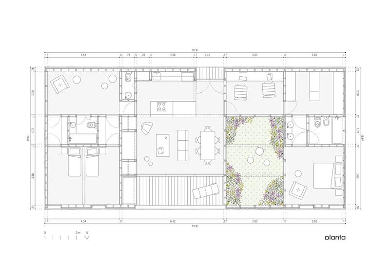 Arquitectura_Casa_AA _ planta