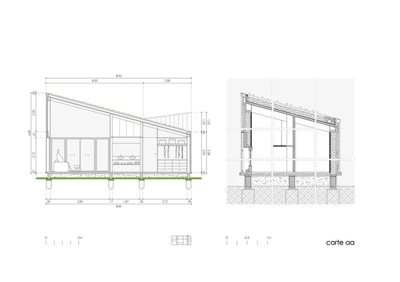 Arquitectura_Casa_AA _ vista seccion a