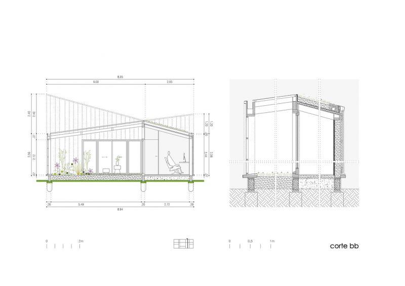 Arquitectura_Casa_AA _ vista seccion