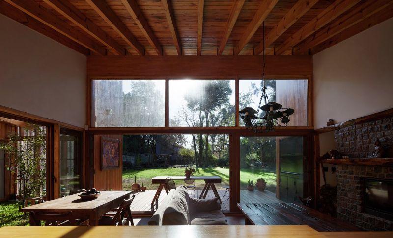 Arquitectura_Casa_AA _ vista interior extructura