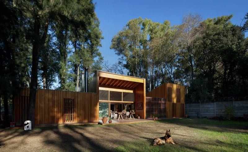 Arquitectura_Casa_AA _ vista exterior  entrada