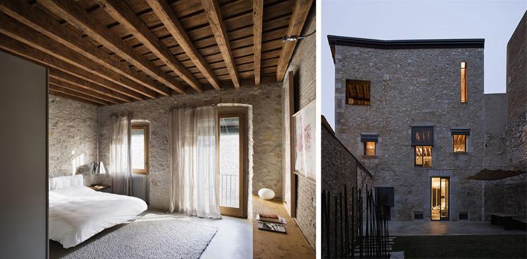 Casa arrufat arquitectura rehabilitada en el centro for Materiales para cubiertas exteriores