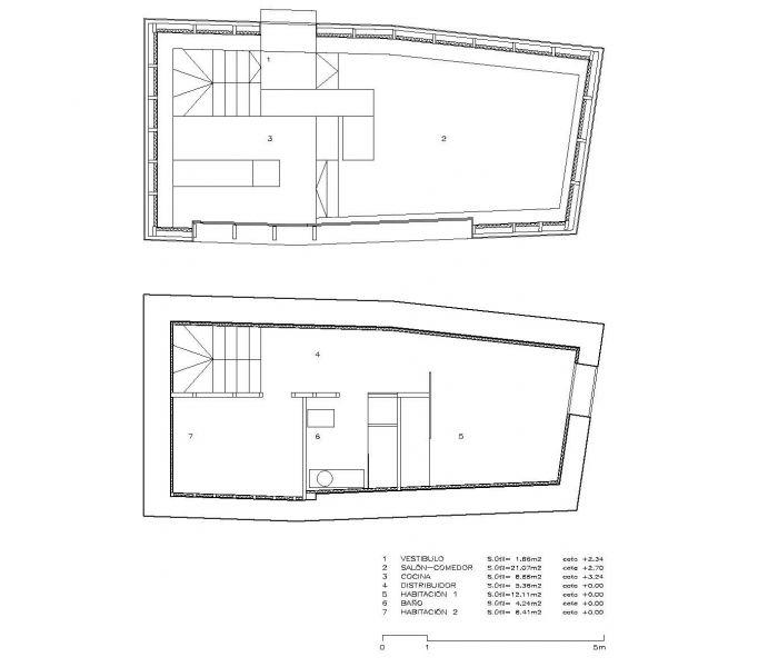 arquitectura_casa Baltanás_Carlos Quintáns_planos