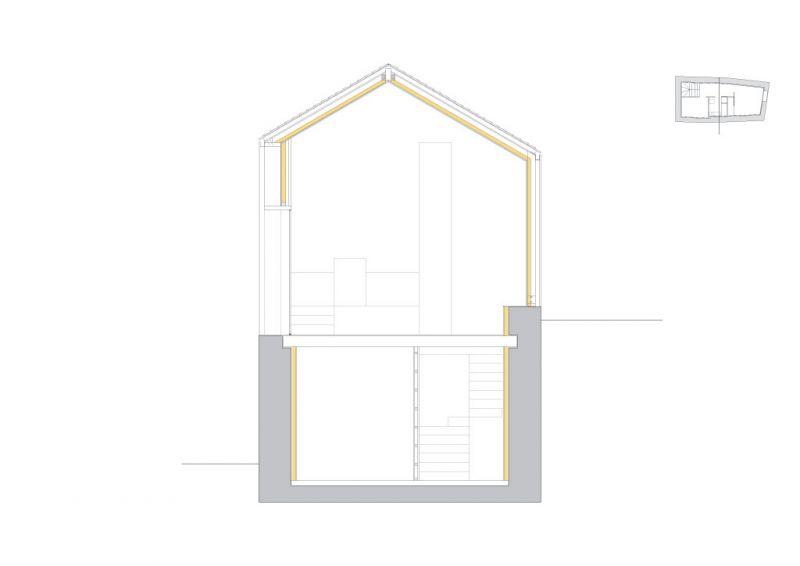 arquitectura_casa Baltanás_Carlos Quintáns_sección