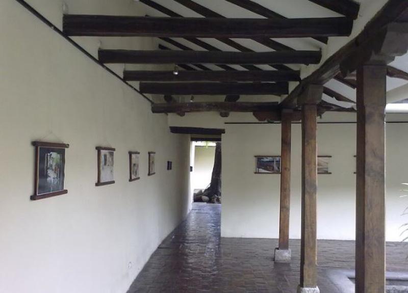 Arquitectura_ casa de las posadas _interior corredor comunicacion
