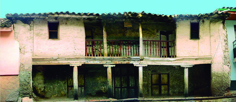 Arquitectura_ casa de las posadas _imagen antes de la rehabilitación fachada