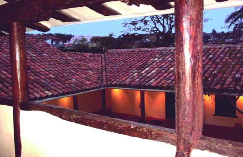 Arquitectura_ casa de las posadas _imagen desde la planta superior vista cubiertas