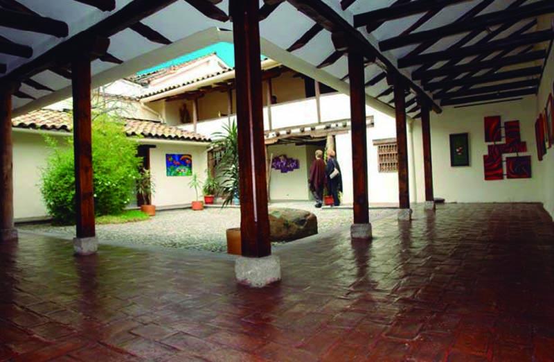 arquitectura_ casa de las posadas _patio exposición