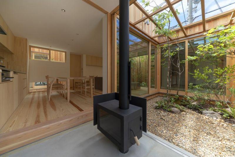 arquitectura_casa en Akashi_Arbol_acceso cocina