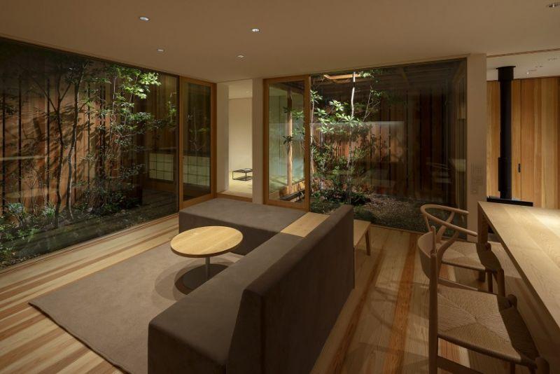 arquitectura_casa en Akashi_Arbol_iluminación