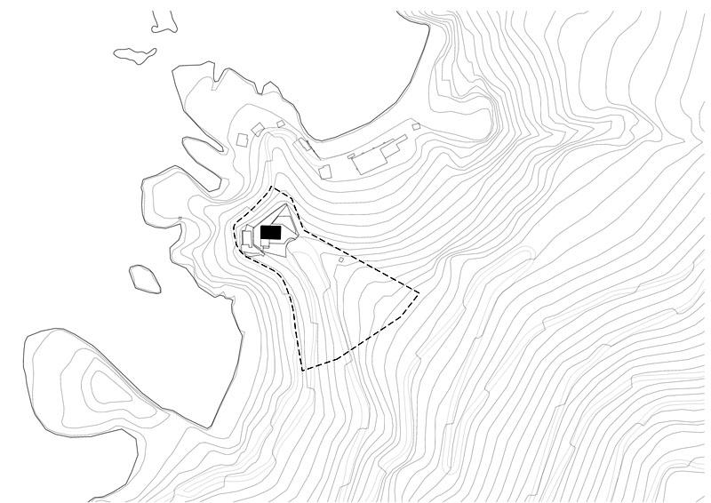 Arquitectura_Casa en el Puerto de la Madera Tacoronte,  Rehabilitación_ planta emplazamiento