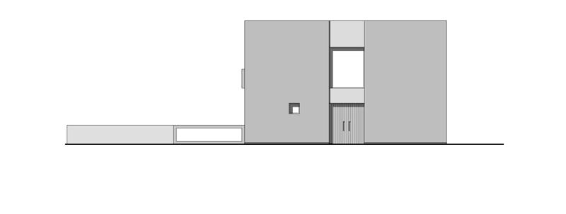 Arquitectura_Casa en el Puerto de la Madera Tacoronte_alzado principal