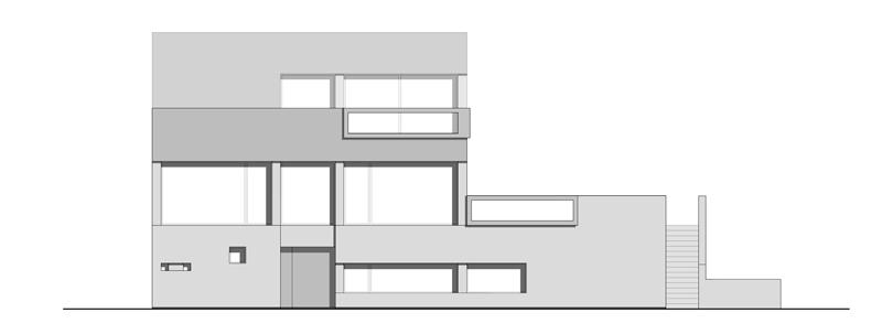 Arquitectura_Casa en el Puerto de la Madera Tacoronte,  Rehabilitación _alzado 3