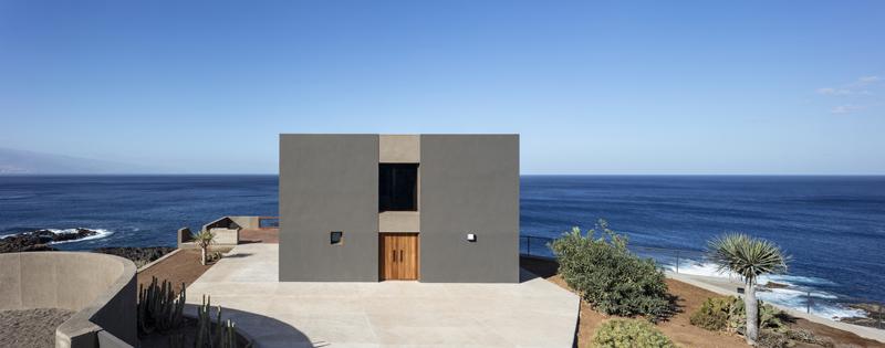 Arquitectura_Casa en el Puerto de la Madera Tacoronte,  Rehabilitación _alzado principal