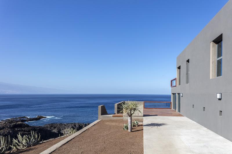 Arquitectura_Casa en el Puerto de la Madera Tacoronte,  Rehabilitación _vistas lateral exterior 1