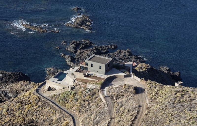 Arquitectura_Casa en el Puerto de la Madera Tacoronte,  Rehabilitación_ vistas de oceano