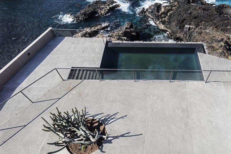 Arquitectura_Casa en el Puerto de la Madera Tacoronte,  Rehabilitación _exterior terrazas y piscina
