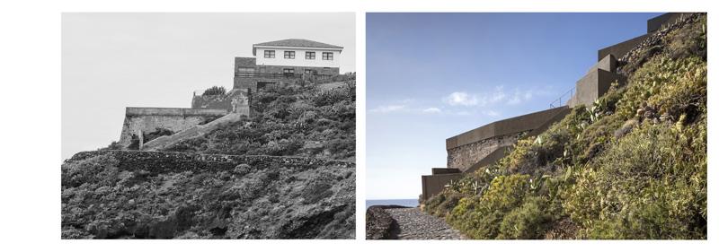 Arquitectura_Casa en el Puerto de la Madera Tacoronte,  antes y posterior a Rehabilitación