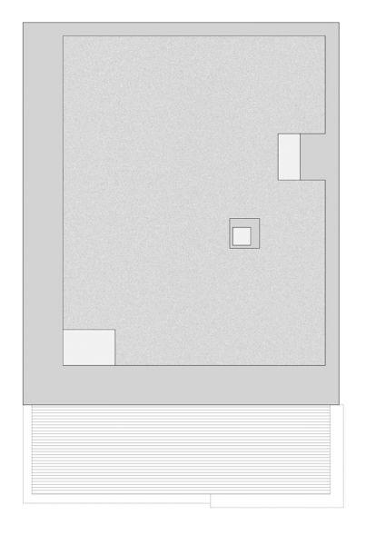 Arquitectura_Casa en el Puerto de la Madera Tacoronte,  planta de cubierta