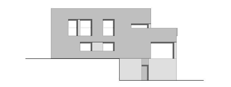 Arquitectura_Casa en el Puerto de la Madera Tacoronte,  Rehabilitación _alzado 2