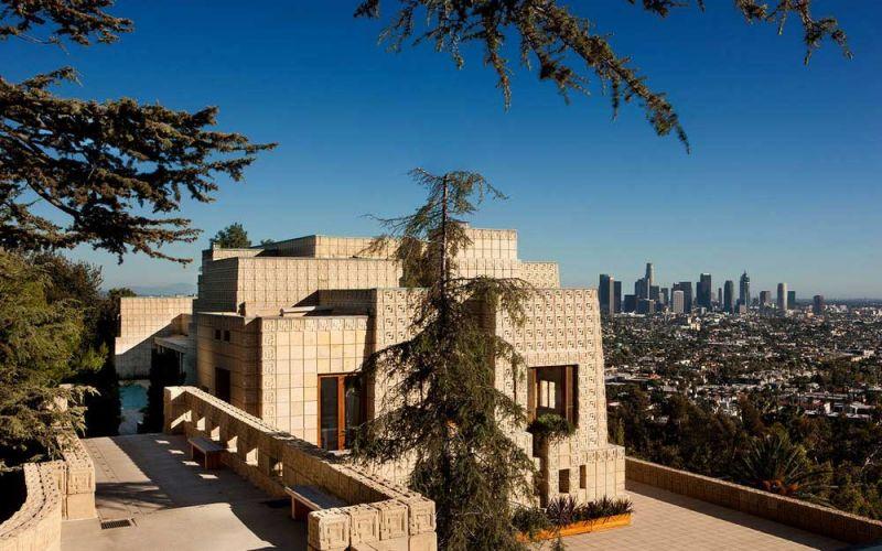 arquitectura casa ennis brown frank lloyd wright fotografia los angeles