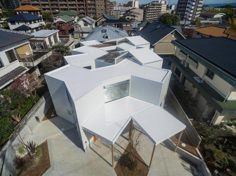 arquitectura Tato Architects Casa en Hokusetsu Fotografía de Shinkenchiku-sha exterior