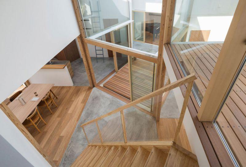 arquitectura Tato Architects Casa en Hokusetsu Fotografía de Shinkenchiku-sha