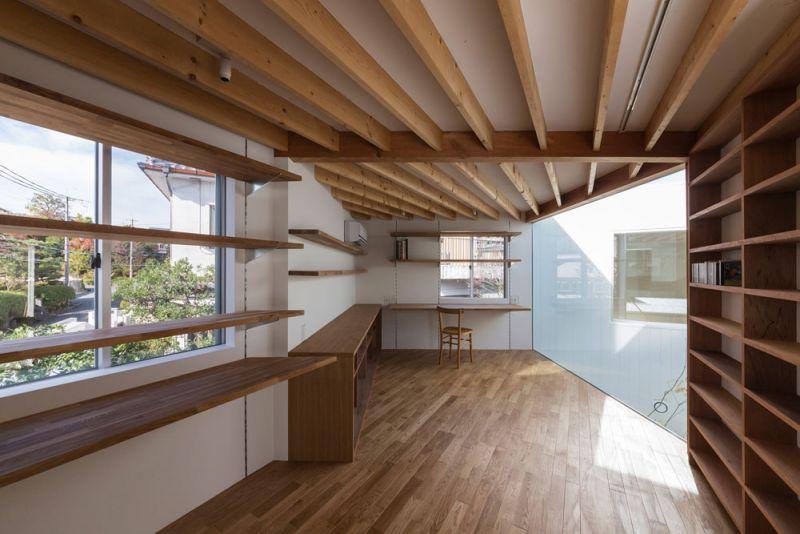 arquitectura Tato Architects Casa en Hokusetsu Fotografía de Shinkenchiku-shahabitacion superior