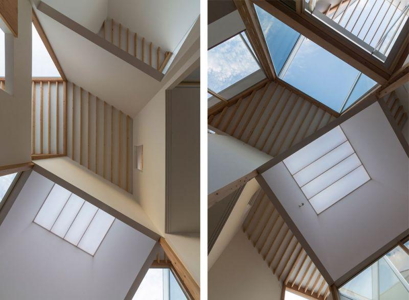 arquitectura Tato Architects Casa en Hokusetsu Fotografía de Shinkenchiku-sha techos