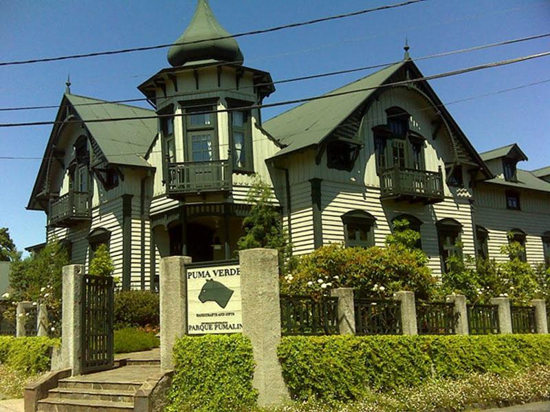 Arquitectura_imagen exterior Casa Kuschel - Puerto Varas
