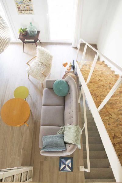 Casa LD de Miguel Torres Aranda + Estudio Veinteporveinte en el cabañal Valencia fotografia salon estar