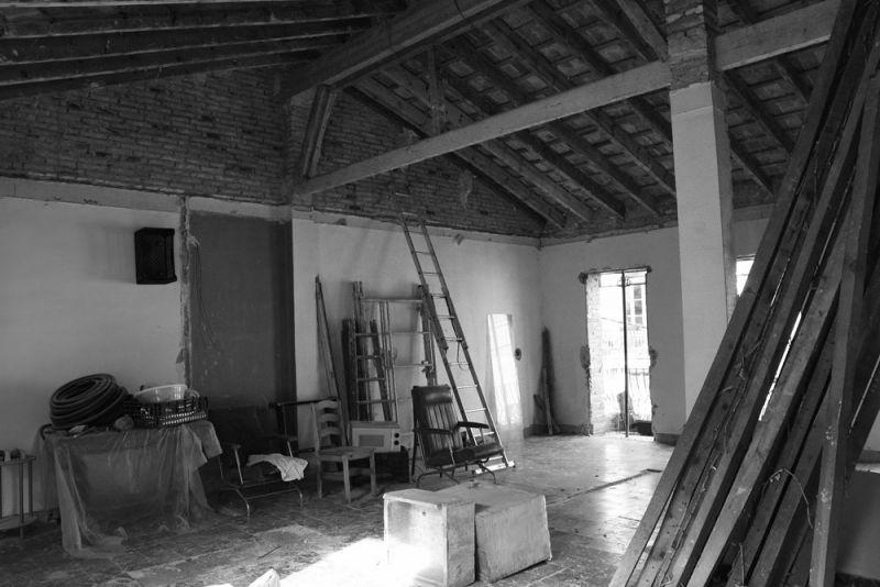 Casa LD de Miguel Torres Aranda + Estudio Veinteporveinte en el cabañal Valencia fotografia estado previo