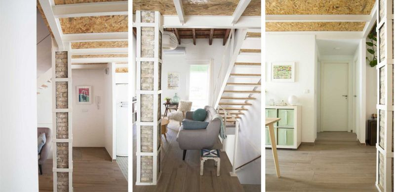 Casa LD de Miguel Torres Aranda + Estudio Veinteporveinte en el cabañal Valencia fotografia  acceso pilar
