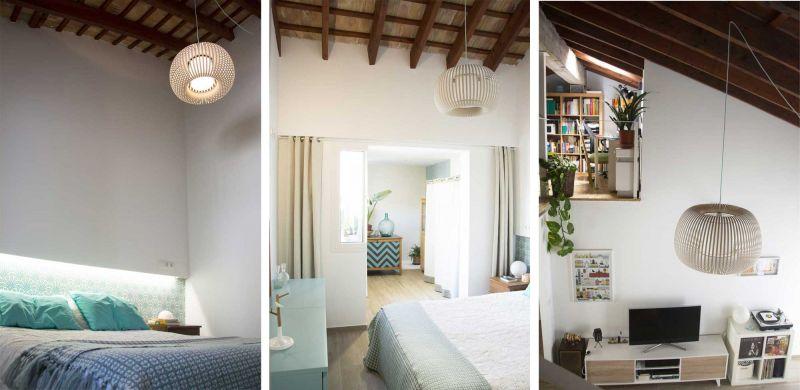 Casa LD de Miguel Torres Aranda + Estudio Veinteporveinte en el cabañal Valencia fotografia habitacion