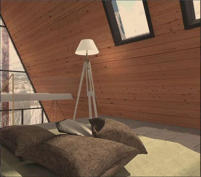arquitectura_Casa Madi_ inerior de madera
