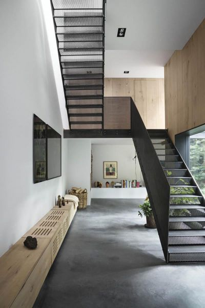 Arquitectura_Casa para Peter Krasilnikoff_ imagen escalera