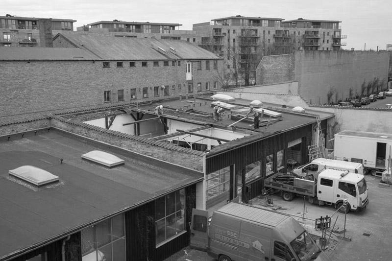 Arquitectura_Casa para Peter Krasilnikoff-imagen intervención blanco y negro
