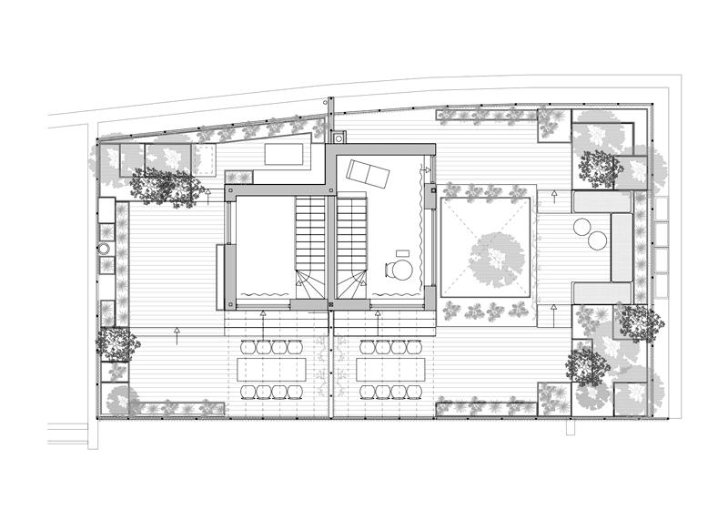 Arquitectura_Casa para Peter Krasilnikoff_planta segunda