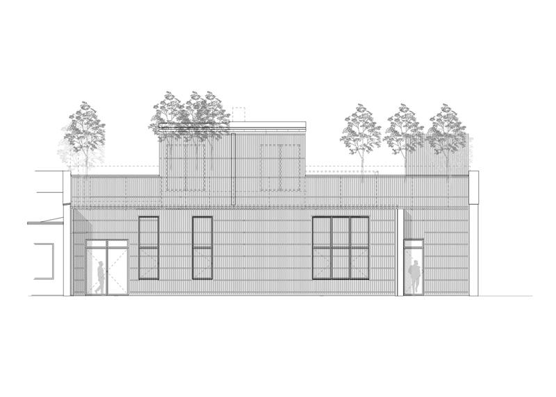 Arquitectura_Casa para Peter Krasilnikoff_ dibujo alzado exterior