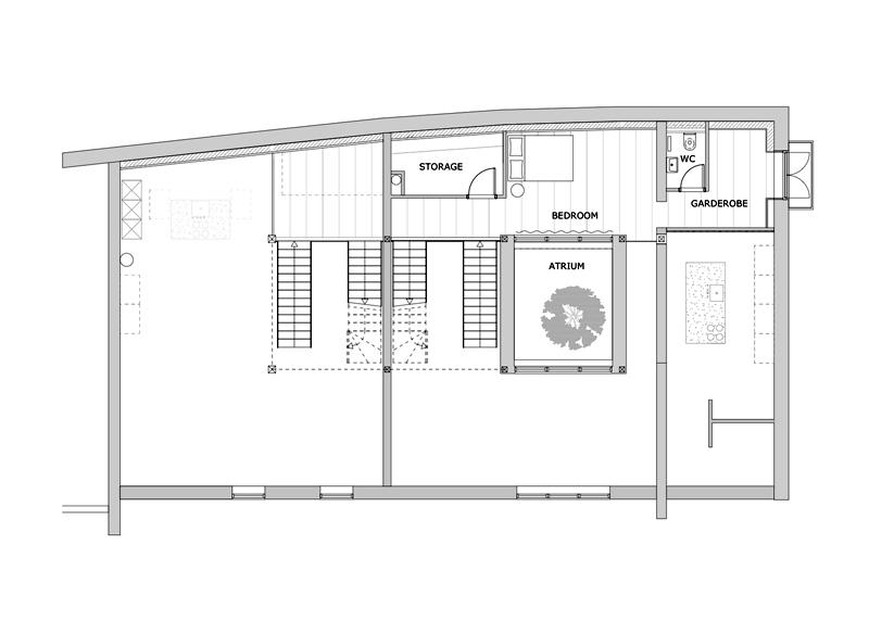 Arquitectura_Casa para Peter Krasilnikoff_planta primera