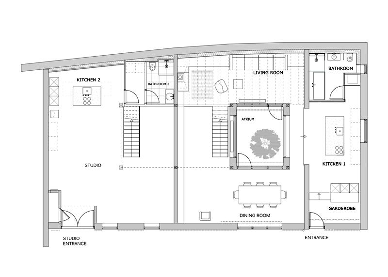 Arquitectura_Casa para Peter Krasilnikoff-planta baja