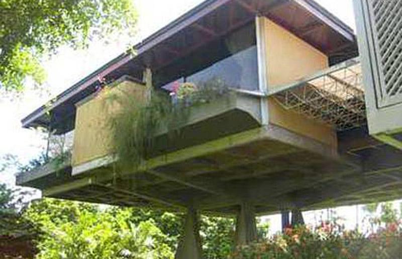Arquitectura__casa Riccio_Fruto Vivas_vista de conexion puente