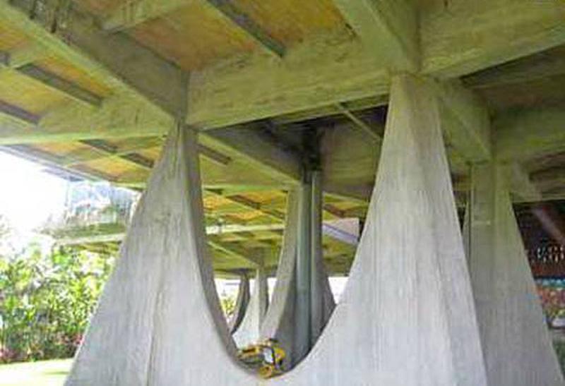 Arquitectura__casa Ricci_Fruto Vivas _pilares