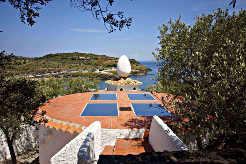 Arquitectura_Casa_Salvador_Dalí_de_Portlligat_(Cadaqués) cubierta con claraboyas