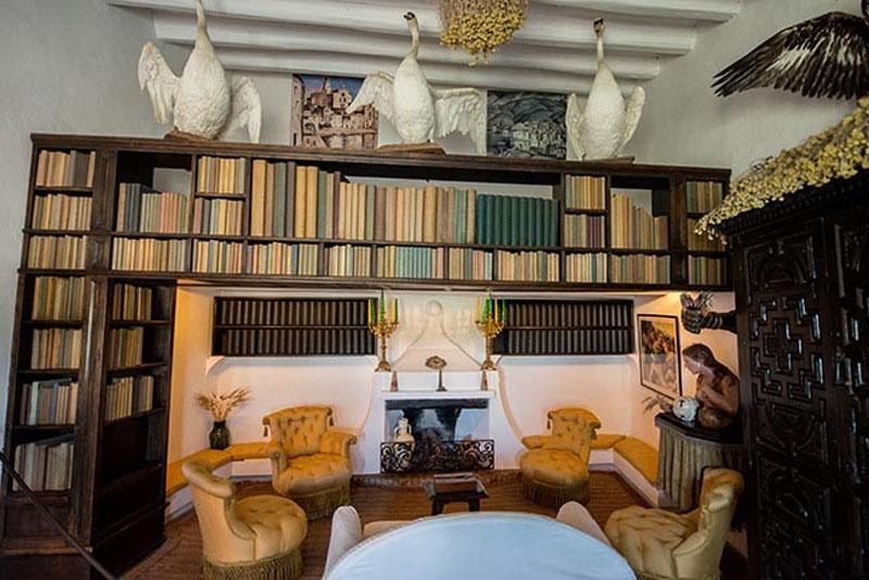 Arquitectura_Casa_Salvador_Dalí_de_Portlligat_(Cadaqués)biblioteca