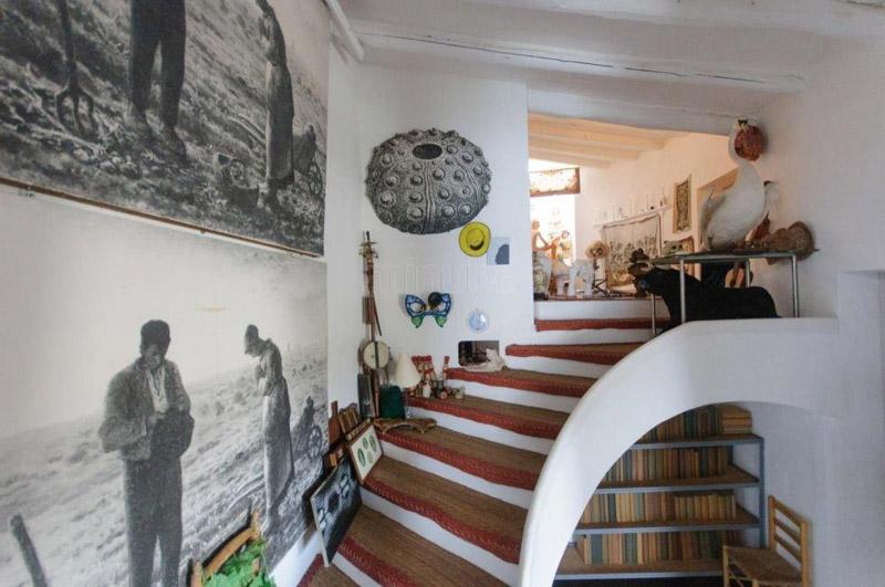 Arquitectura_Casa_Salvador_Dalí_de_Portlligat_(Cadaqués)escalera interior