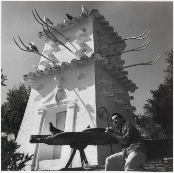 Arquitectura_Casa_Salvador_Dalí_de_Portlligat_(Cadaqués)imagen Dalí en el Palomar