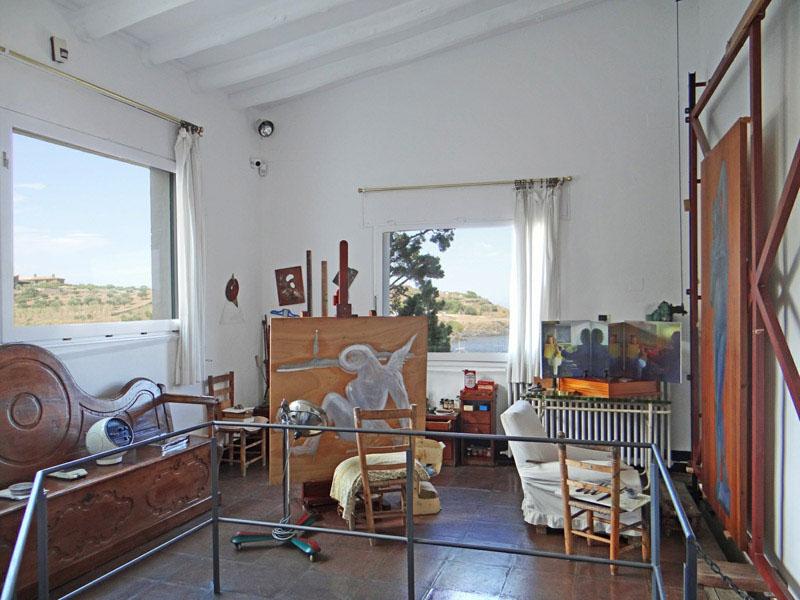 Arquitectura_Casa_Salvador_Dalí_de_Portlligat_(Cadaqués)_despacho