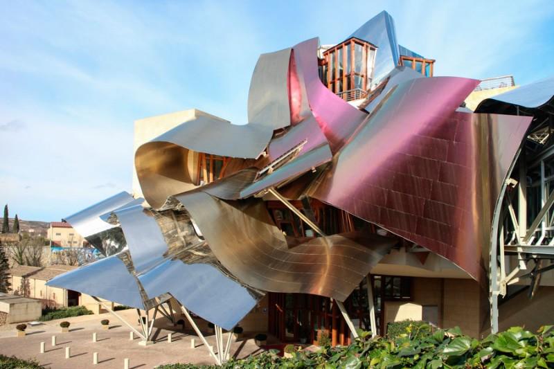 La Ciudad del Vino en Álava, Frank Gehry